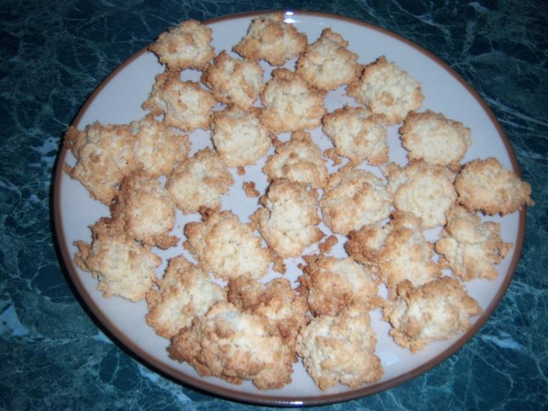 Petits Rochers noix de coco-Amande 01111