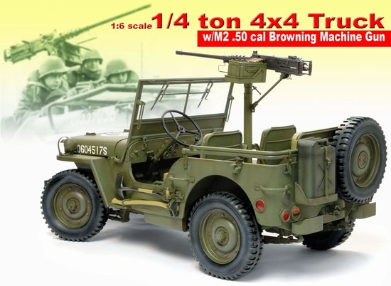 1/6 scale U.S. Jeep by Dragon USA Jeep10