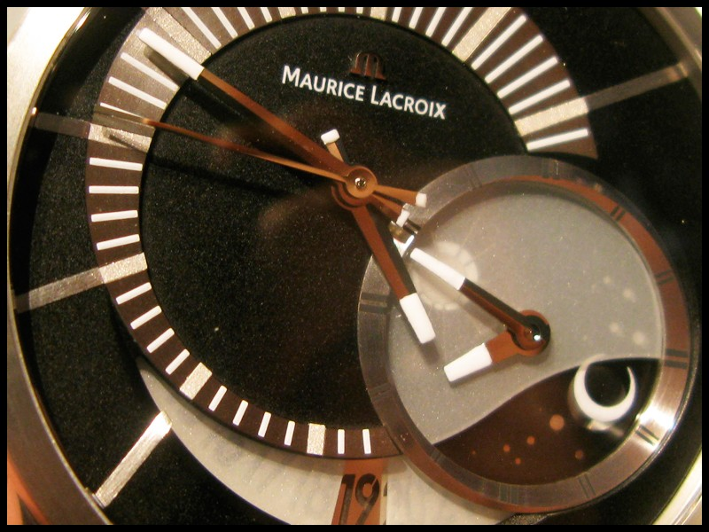 Essai - Maurice Lacroix Pontos Décentrique GMT LE Cadran11