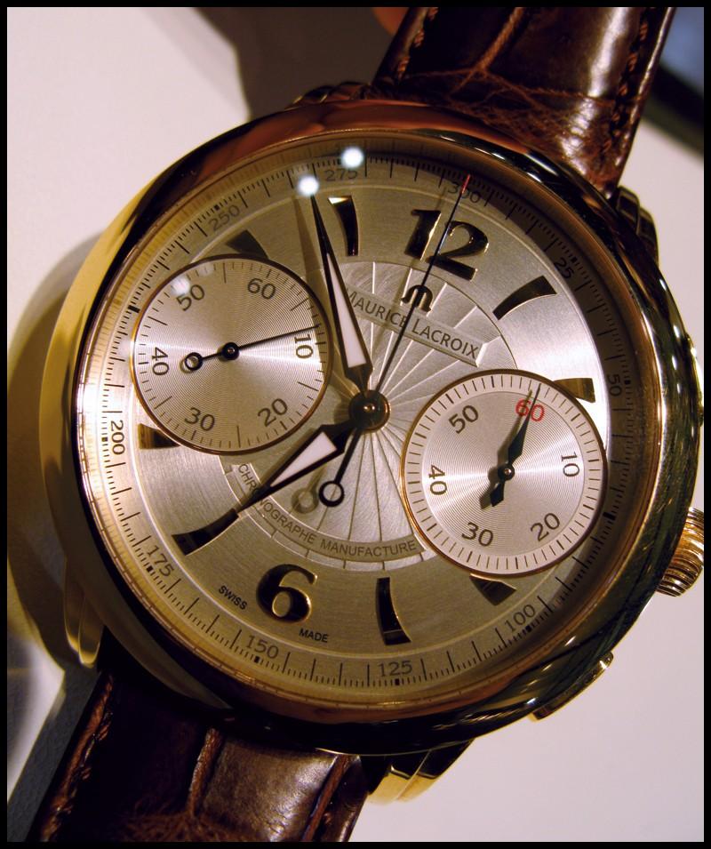 Maurice Lacroix Chronographe, l'essai >>> Chrono16