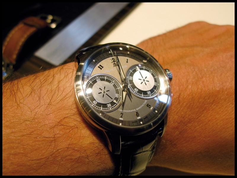 Maurice Lacroix Chronographe V2, l'essai >>> Ml110