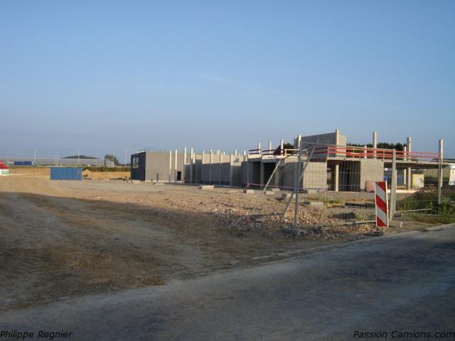 Nouveau centre routier a Bierset logistique Bekke149
