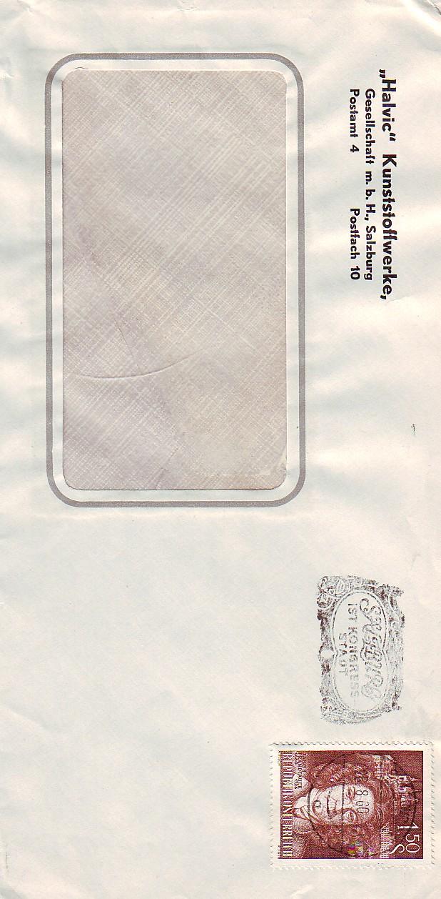 Sammlung Bedarfsbriefe Österreich ab 1945 196010