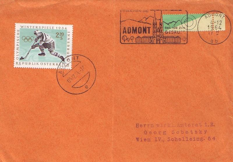 Sammlung Bedarfsbriefe Österreich ab 1945 196310