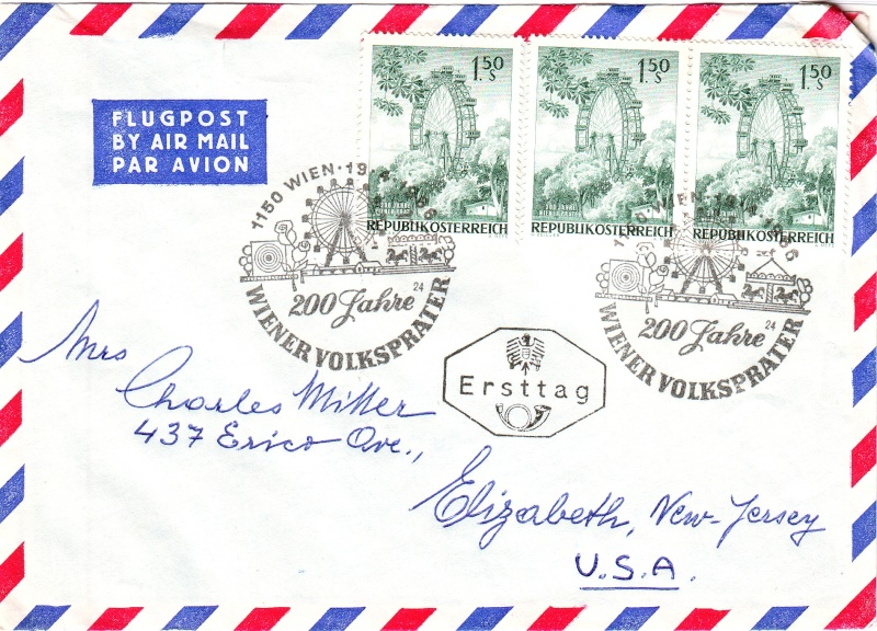 Sammlung Bedarfsbriefe Österreich ab 1945 196610