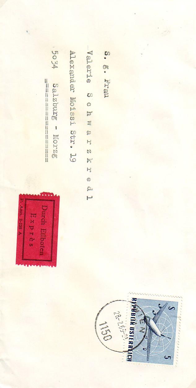 Sammlung Bedarfsbriefe Österreich ab 1945 - Seite 2 196810