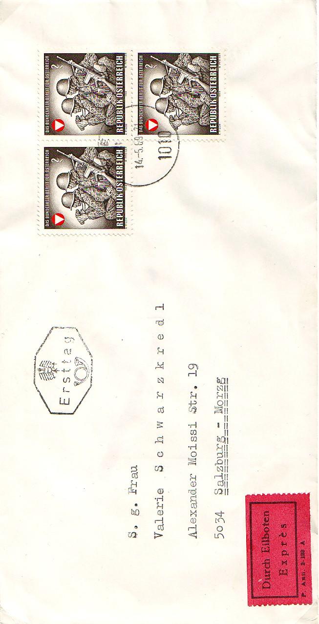 Sammlung Bedarfsbriefe Österreich ab 1945 - Seite 2 196910