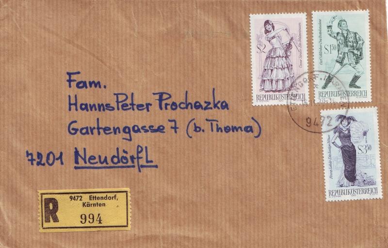 Sammlung Bedarfsbriefe Österreich ab 1945 - Seite 2 197010