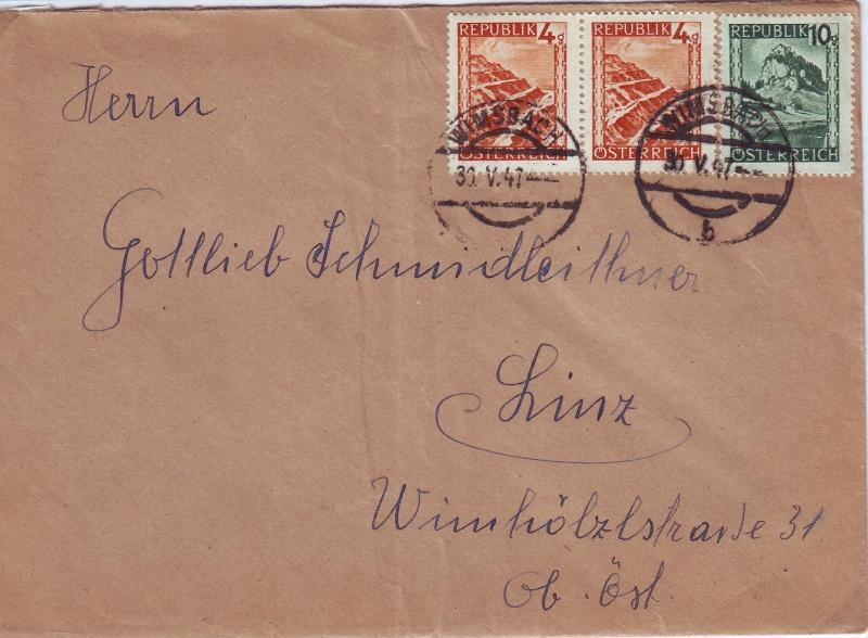 Landschaftsbilder ANK 738-766  -  Belege Landsc17