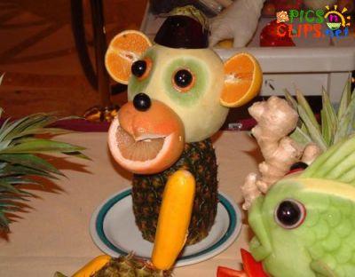 Creative Fruit n Vegitable ART Normal23