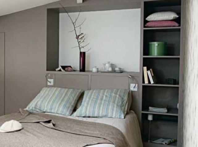 La chambre parentales. Agencement, installation d'un dressing et couleur! 14_w6410