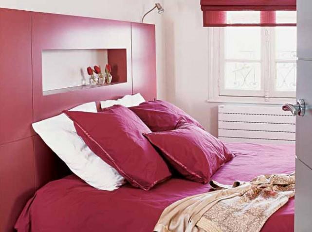 La chambre parentales. Agencement, installation d'un dressing et couleur! 15_w6410