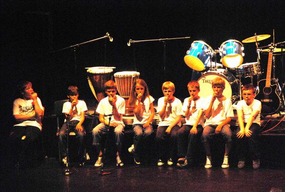 Quelques photos du spectacle du 20 juin 2009 Dsc-9023