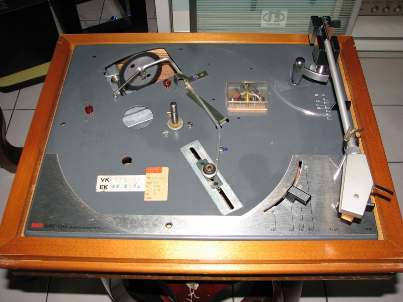 Lenco B55 turntable (Used) SOLD Img_3414