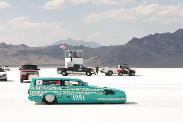 Bonneville Speed Week 2009       DRAGSTERS AUTO    USA 57767_10