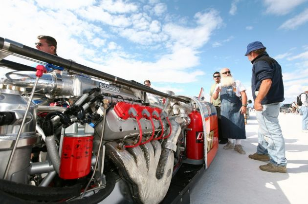 Bonneville Speed Week 2009       DRAGSTERS AUTO    USA 57787_10