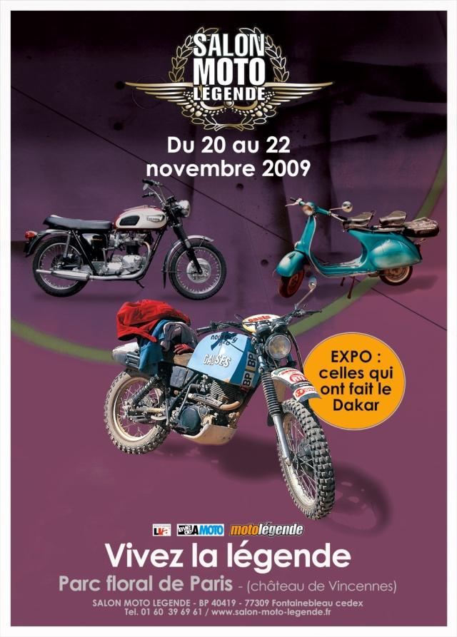 SALON MOTO DE LEGENDE 2009 Affich10