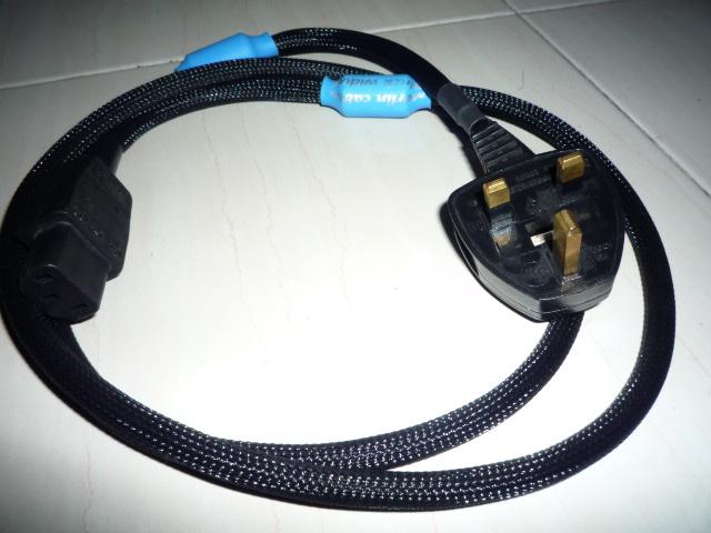 Merlin Black Widow power cord (Used) SOLD P1020066