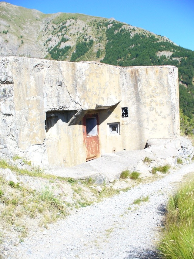 bunker dans l'ubaye 15 Aout Bed_fo13