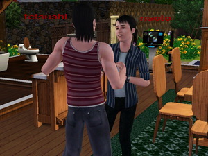 LET THERE BE SIMS Hiroya12