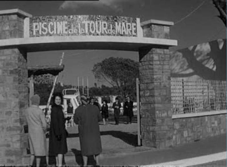 La Piscine de la Tour de Mare - photo de 1963 1963_p10