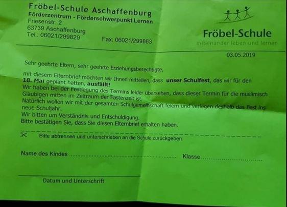 Die Fröbelschule Aschaffenburg integriert sich  Schule10