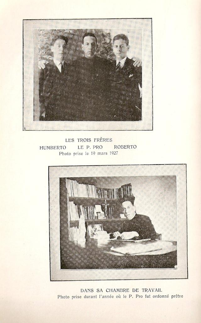 LE PÈRE PRO, martyr, 1891-1927 ( Mexique ) - Page 2 Numari32