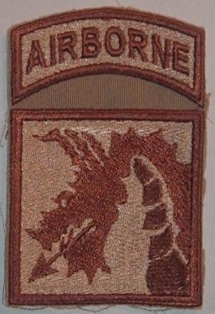 18th (XVIII) Airborne Corps Corps115