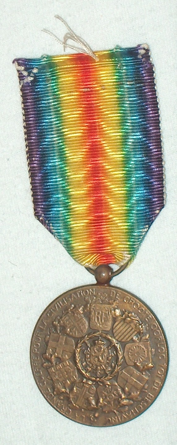 WW1 Allied Victory Medal A001_210