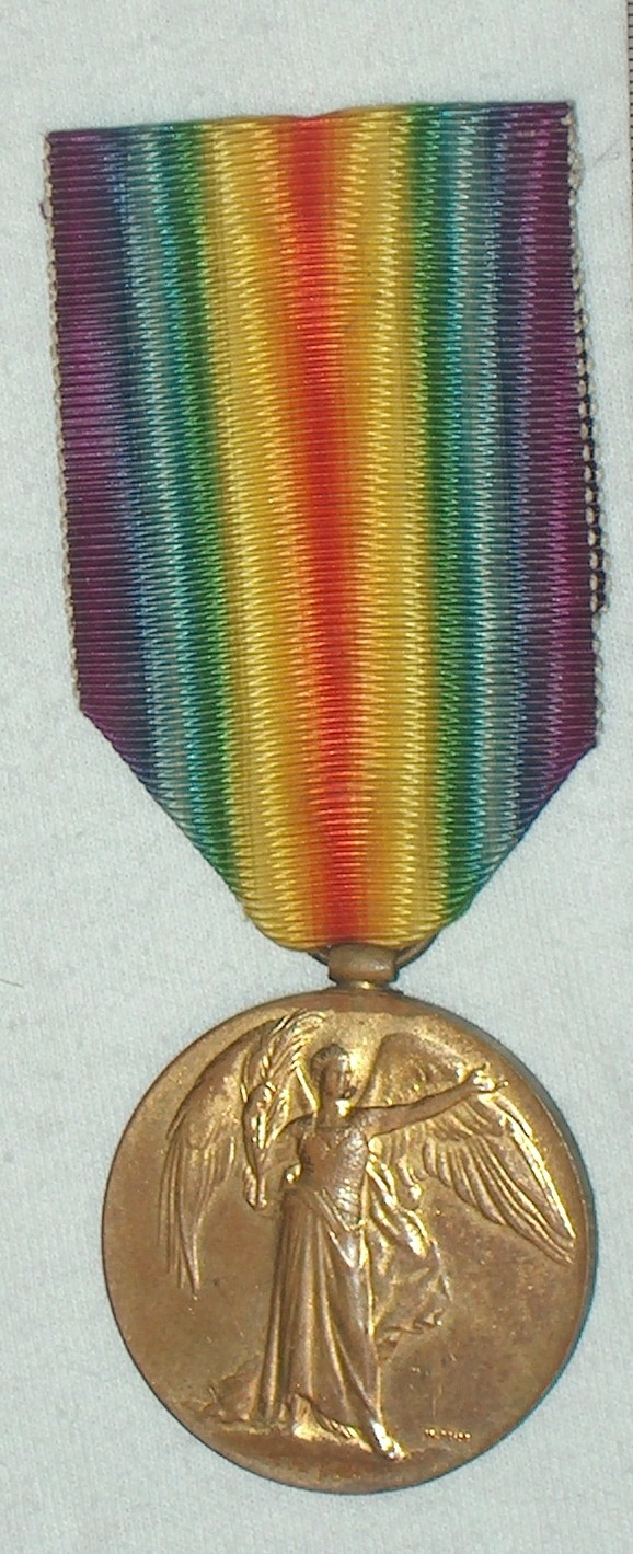 WW1 Allied Victory Medal A004_112
