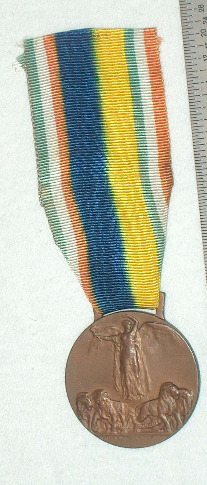 WW1 Allied Victory Medal A005_110