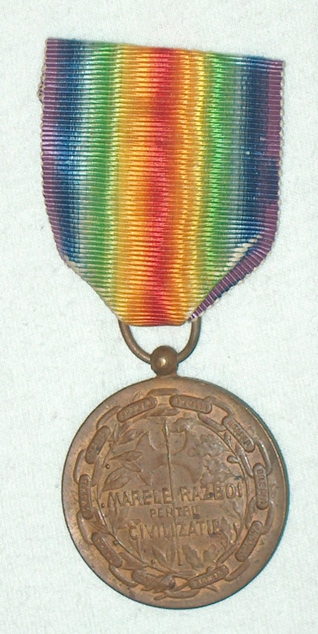 WW1 Allied Victory Medal A007_210
