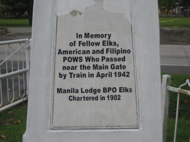 Bataan Death March Marker Ac_jul25