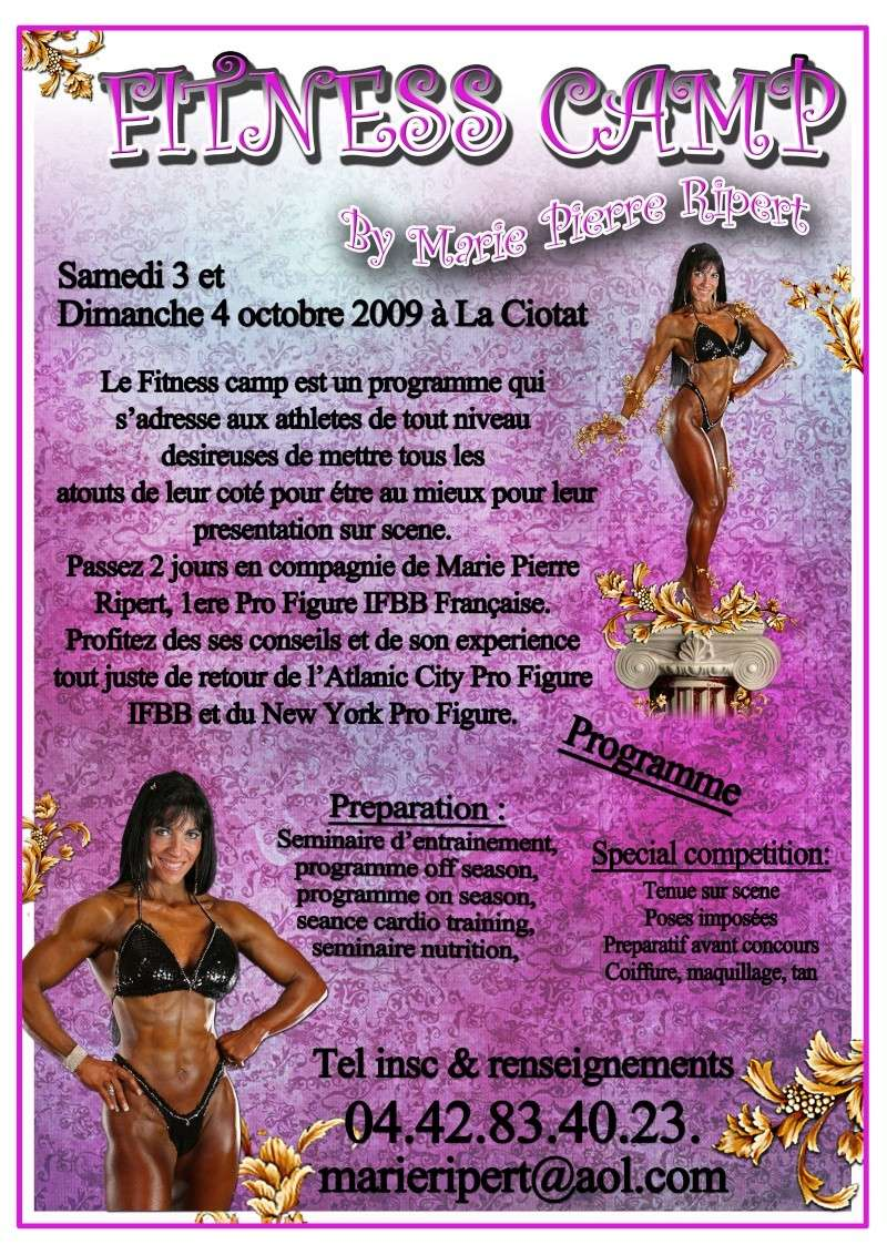 fitness - FITNESS CAMP BY MARIE PIERRE RIPERT PRO FIGURE IFBB Fitnes10