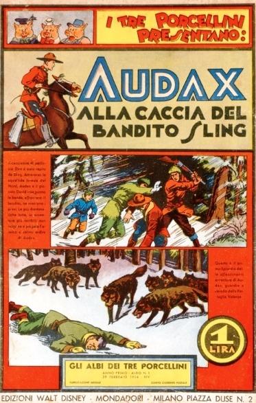 Bandes dessinées italiennes - Page 10 Audax10