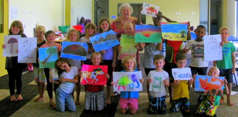 Cooktown Kids Art Society Inaugural Art Exhibition opens Sat 17 August 2013 Img_0010