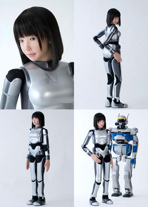 "La primera robot humanoide ""modelo""; La HRP-4C Hrp-4c10"