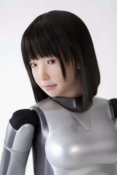 "La primera robot humanoide ""modelo""; La HRP-4C Hrp-4c12"