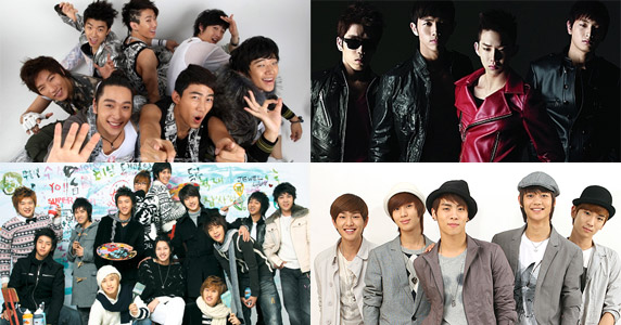[Music Bank Extravaganza] 2PM + 2AM + Super Junior + SHINee to join forces on Music Bank? And More! 20090610