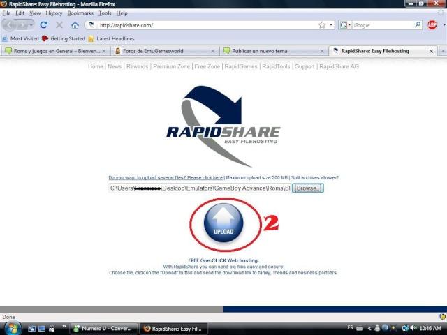 [TUTORIAL] Subir archivos desde Rapidshare Rapids15