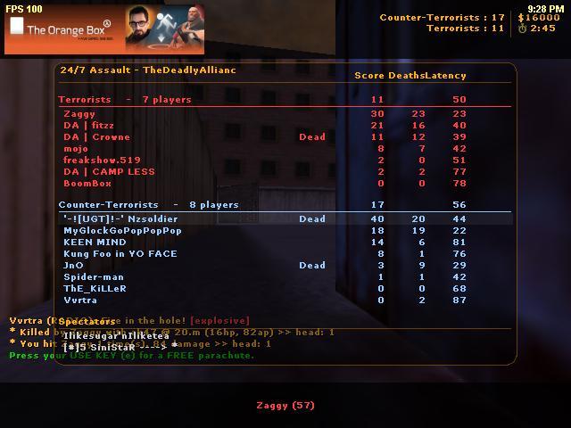 Cs 1.6 Screenshot/ Nzsoldier pwnage Cs_ass10