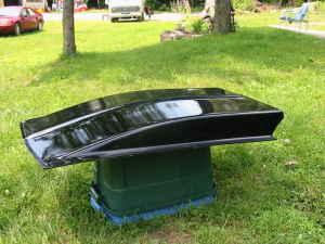 Fiberglass cowl 3ka3m411