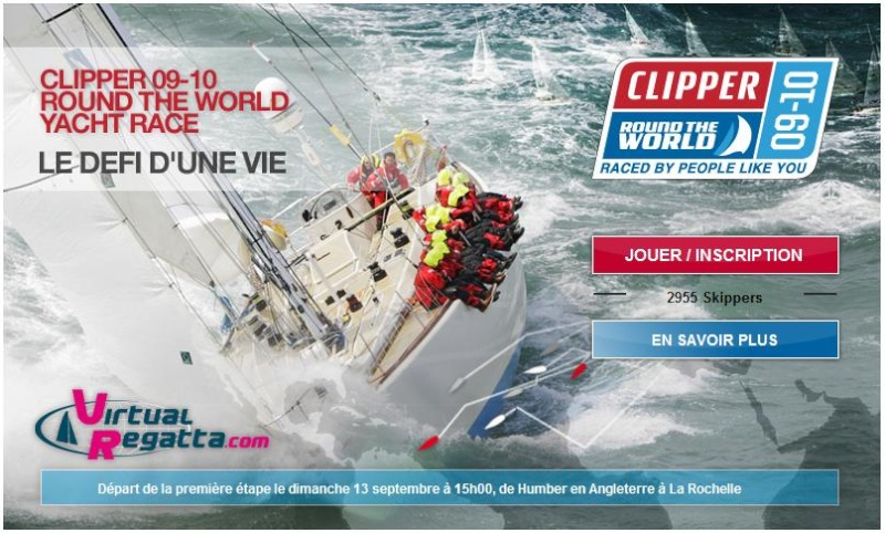 Clipper Round the World Yacht Race (VR - 13/09/09 - 15h00) Clippe10