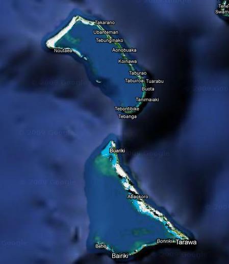 tour aux kiribatis - Et si on partait en course jusqu'aux kiribati ??? lolll... Venez donner votre avis Kiriba10