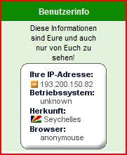 Nur Frage habe wegen ständigen IP-Nummern-Wechsel A11175