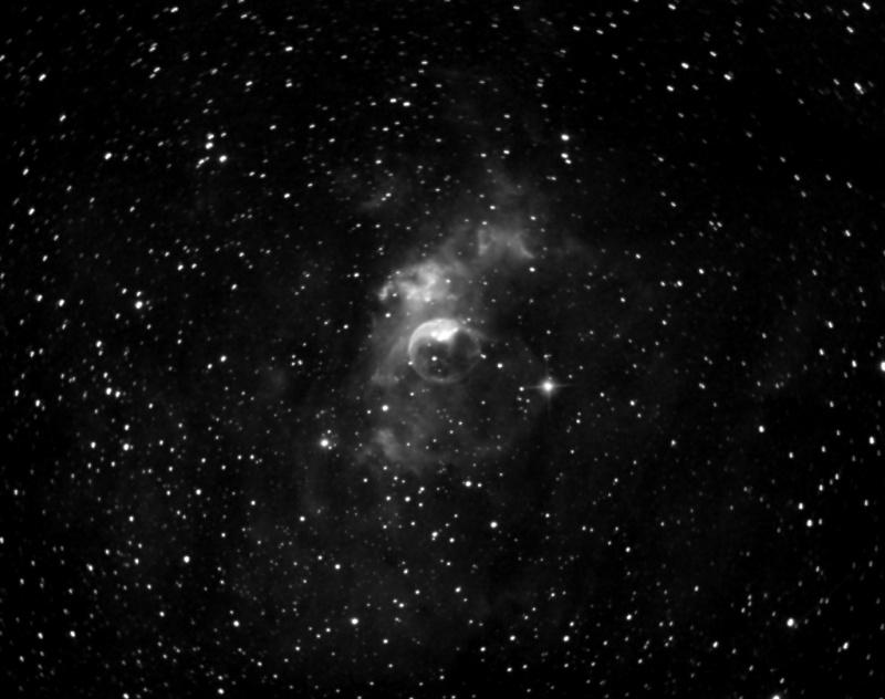 DEBUT ASTROPHOTO NGC 7635 en h alpha H-alph10