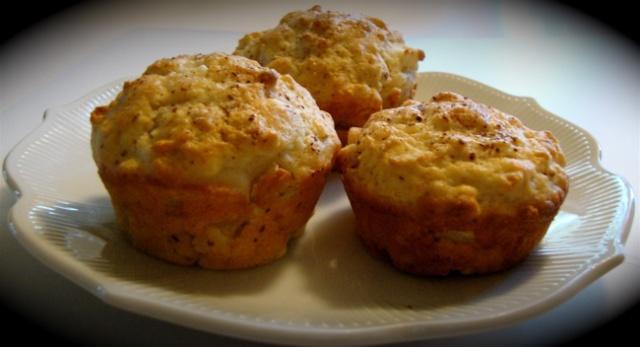 Muffins au yogourt et aux pommes 10_mid16
