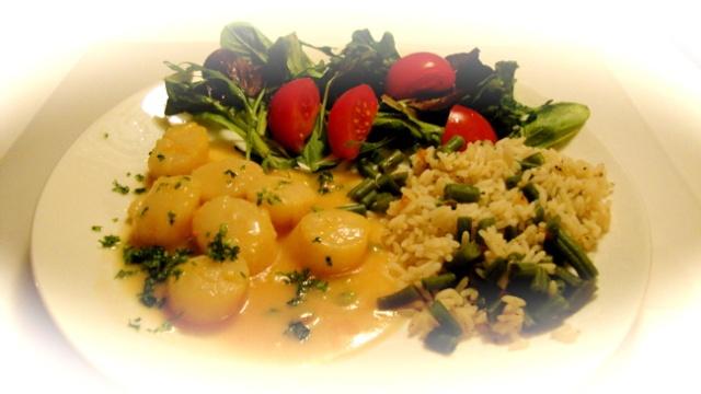 Pétoncles pour deux, sauce à l'orange 10_pat16
