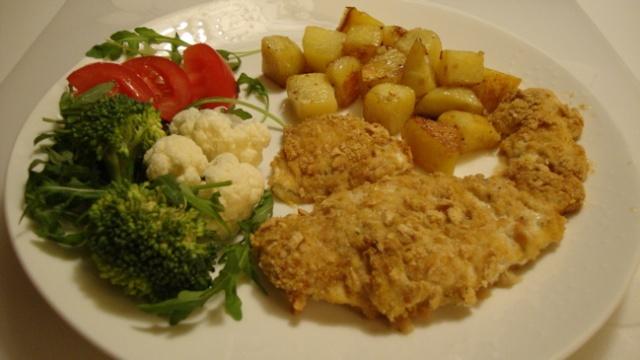 Escalopes de poulet panées sans friture 10_poi11