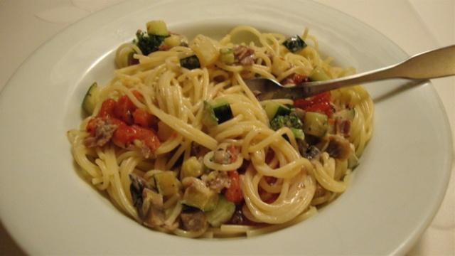Spaghettini au prosciutto, sauce à la crème 11_pat14